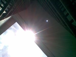 See nibiru on my roof (what is it doing there!!!)